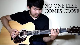 Joe - No One Else Comes Close (Fingerstyle cover by Jorell) INSTRUMENTAL | KARAOKE WITH LYRICS