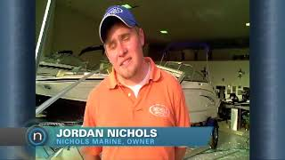 Nichols Marine gets storm damage (2010-05-11)