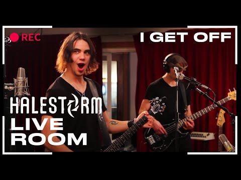 """Halestorm - """"I Get Off"""" captured in The Live Room"""