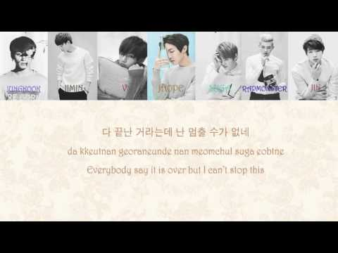 [방탄소년단] BTS - RUN BALLAD MIX (Colour Coded)