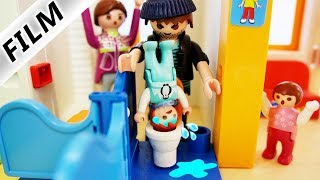 Playmobil Film deutsch | EMMA IN KLO GESTECKT - fieser Dieb in Kita | Kinderfilm Familie Vogel