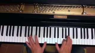 Tutorial piano y voz Café La Humedad (Cacho Castaña)