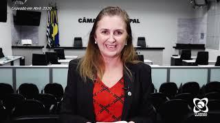 Alessandra Lucchesi pede uso de máscaras à população e regulação pela Prefeitura