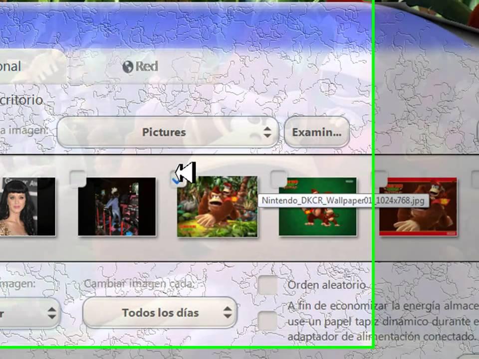 Como cambiar el fondo de escritorio del windows 7 starter youtube - Como cambiar fondo de escritorio windows 7 starter ...