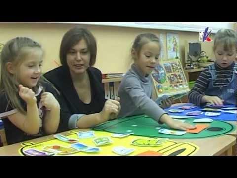 В детских садах используют развивающие игры