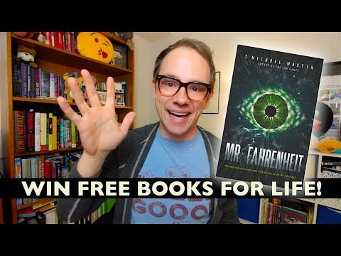 Reading from My New Novel, MR. FAHRENHEIT!
