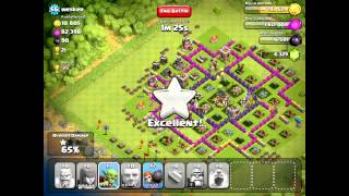 Clash of Clans [300 Subscriber Bonus] Pingfao's Gameplay Vid 2 - Revamped vs. Remixed (New WB AI)