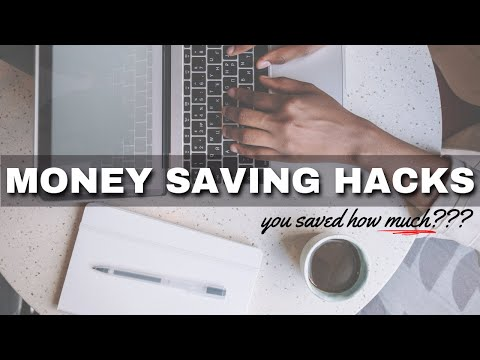 7 money saving TIPS & HACKS ⎟FRUGAL LIVING TIPS ⎟How to Save Money