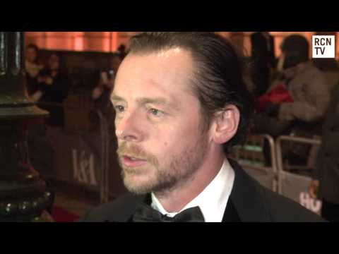 Simon Pegg Interview - Star Trek, Shaun Of the Dead & Movie Costumes