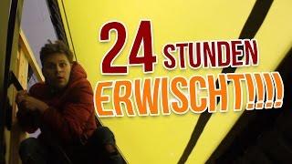 24 STUNDEN IM TRAMPOLIN PARK EINSPERREN! ERWISCHT ⛔️