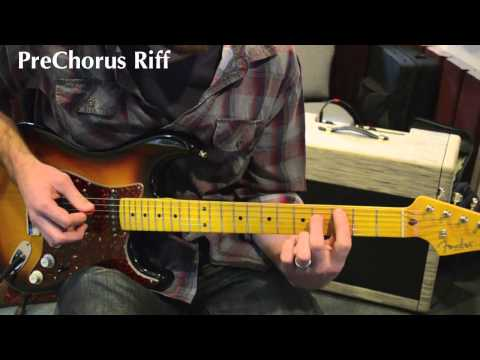 Hosanna (Paul Baloche - A Greater Song) Electric Guitar Lesson