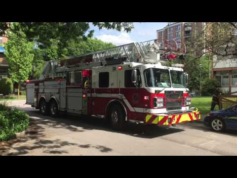 Vancouver Fire Working Fire Response - East Pender St