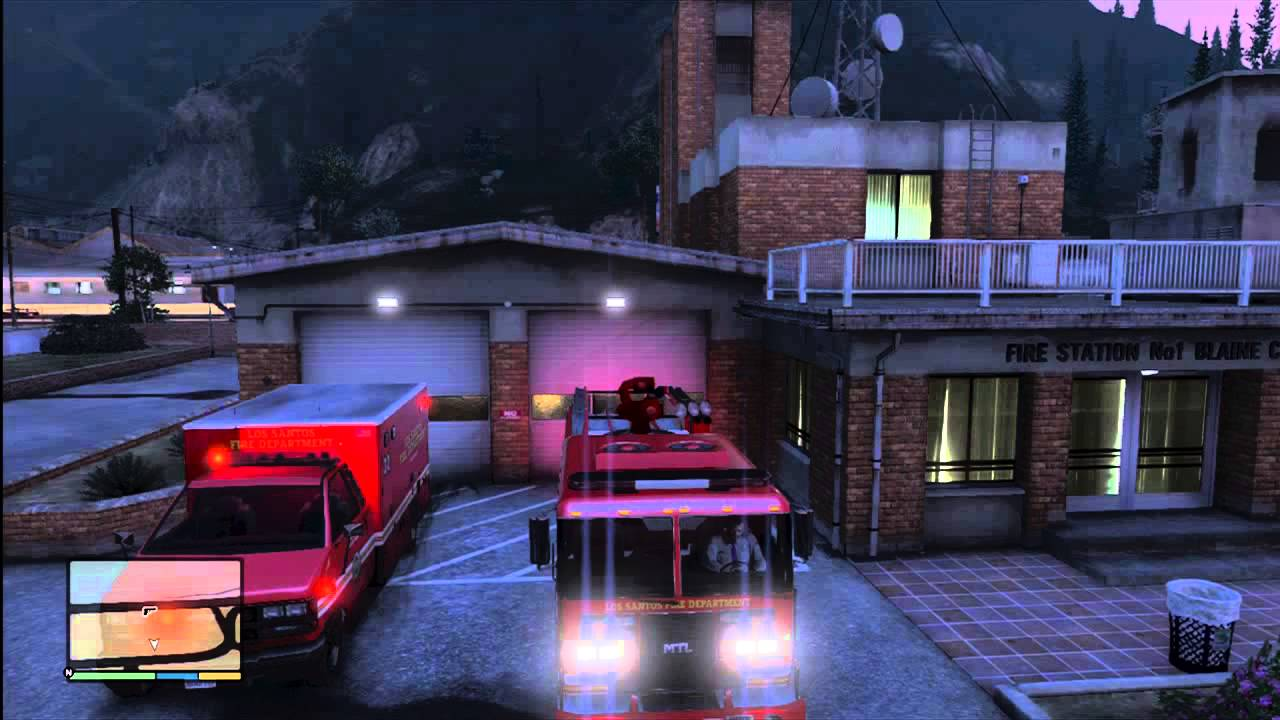 K And R Auto >> Grand Theft Auto 5 - Los Santos Fire & Rescue Vehicles w ...