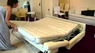 İlginç Bir Açılan yatak  dekorasyonu