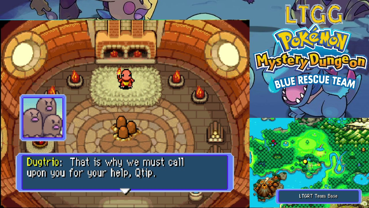 play pokemon mystery dungeon blue rescue team online free
