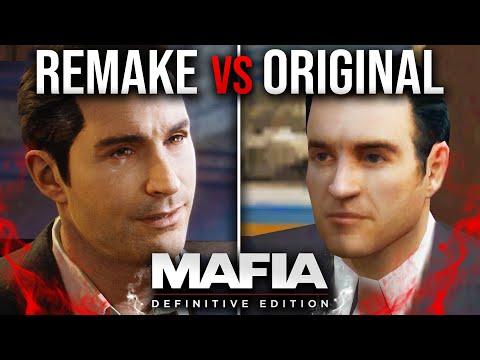 Mafia 1 Remake Vs Original Comparison