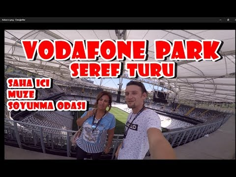 Vodafone Park Şeref Turu !! Soyunma Odasına Girdik Tüm stadı gezdik