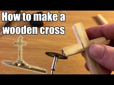 How to make a wooden cross - Easter decoration - DIY #2