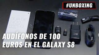 Galaxy S8, unboxing en español