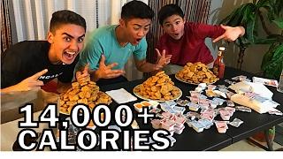 300 CHICKEN NUGGET CHALLENGE!!