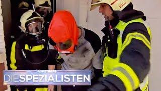 Spielsüchtiger Zocker: Er rettet seine Spielkonsole aus dem Feuer | Die Spezialisten | SAT.1 TV