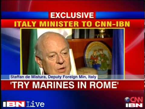 Italy maintains marines must be tried in Rome