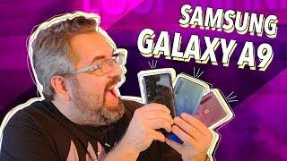 A Samsung lançou oficialmente no Brasil o Galaxy A9, que é o primei...