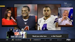 THE HERD | Colin Cowherd DEBATE Would you rather have ____ or Dak Prescott?