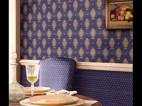 Декоративная драпировка стен тканью и кожей