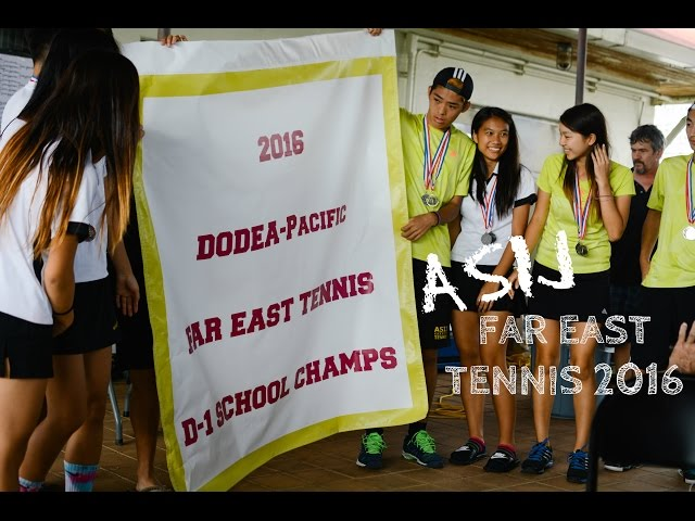 ASIJ Far East Tennis 2016