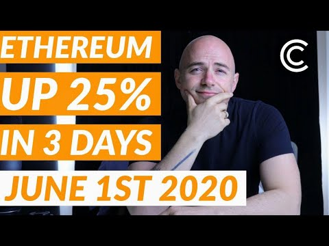 Ethereum Up 25% In 3 Days - Current Bitcoin Price [June 1st 2020]