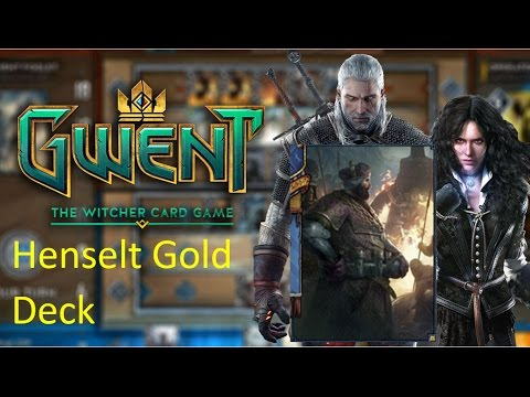 how to use henselt gwent