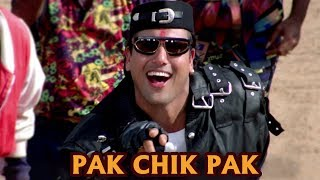 Pak Chik Pak Raja Babu - 4K Ultra HD Video Song | Govinda & Shakti Kapoor | Raja Babu