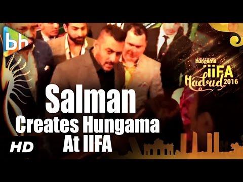 Salman Khan creates HUNGAMA at IIFA Rocks, Madrid