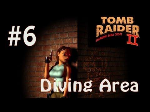 Tomb Raider II Dagger of Xian: Level 6 - Diving Area