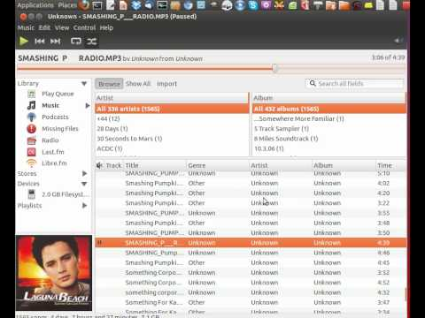 Top 4 Ubuntu Music Players for 2012