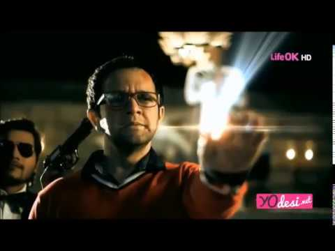 Shapath SuperCops Vs SuperVillains LifeOK TV - Crocodile Villain Pt1 - w/Imran Khan & Zachary Coffin