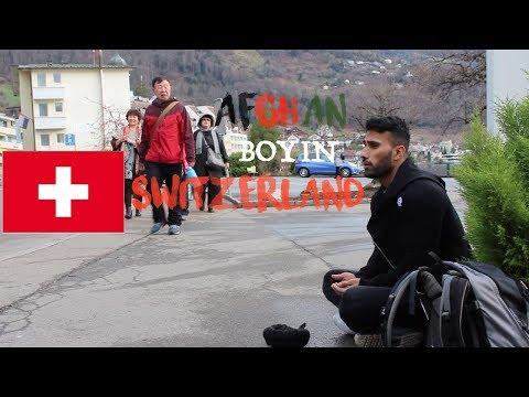 AFGHAN BOY IN SWITZERLAND