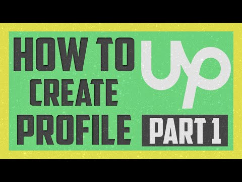How to Create upwork Account Bangla tutorial Part 1 2016.