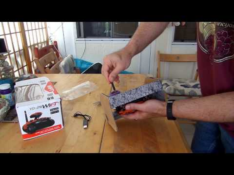 Attop YD211 RC Spy Tank Unboxing Video