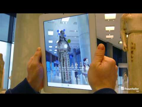 The CHESS Project: Augmented Reality at the Acropolis Museum's Peplos Kore exhibit
