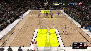 NBA 2K11 - Hop Step Cheese in a Crew Game