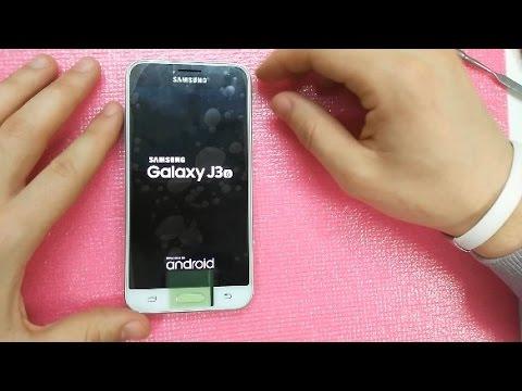 Разборка и замена дисплейного модуля Samsung Galaxy J3 2016 года
