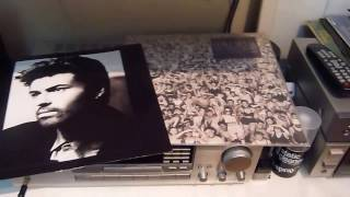 George Michael - Waiting (Reprise) on turntable