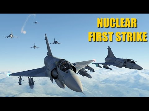 Atomic Valley First Strike Mission | Mirage 2000 F-15 | DCS