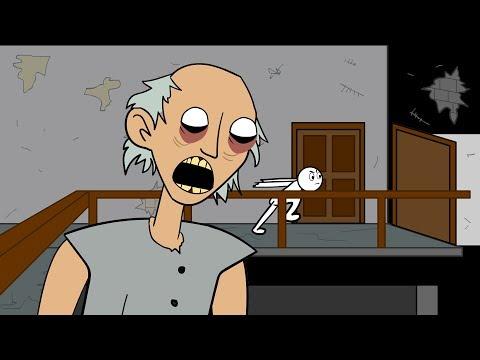 GRANNY THE HORROR GAME ANIMATION #1 : The Scary Granny - Лучшие видео поздравления в ютубе (в высоком качестве)!