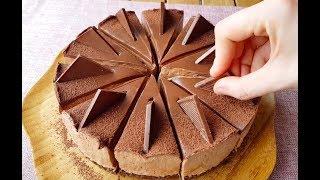 Fırın yok Pişirmek yok💯 Yiyenler Hayran Kalıyor ✔Çikolatalı Cheesecake Tarifi| NO BAKE CHEESECAKE