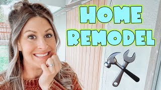 REMODELING OUR HOUSE + Life Update!  WEEKEND VLOG 