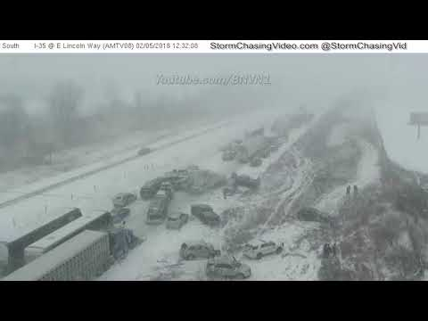 SCV Blog Video, Ames, Iowa Extended Mix I35 Pile Up Video