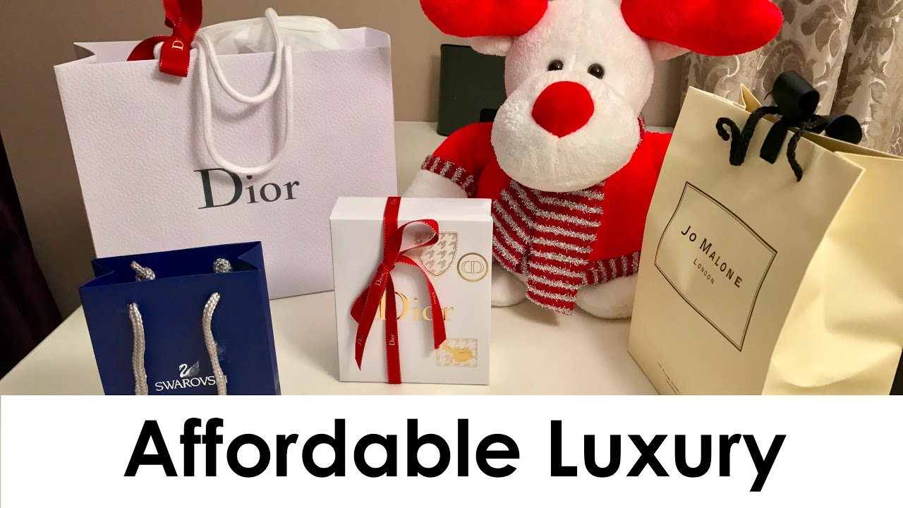 ON A BUDGET? | Affordable LUXURY Christmas Gift Ideas! - YouTube